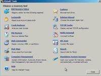 Экран 2. Дополнительное меню восстановления DaRT