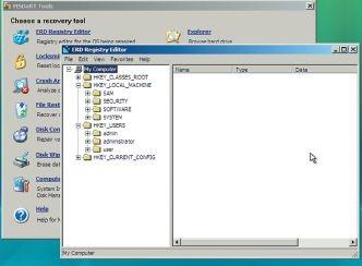 Утилита ERD Registry Editor