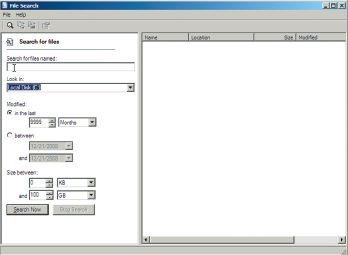 Утилита File Search