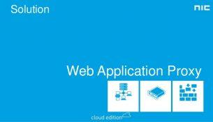 web application proxy
