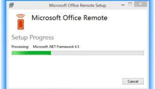 Microsoft Office Remote PC
